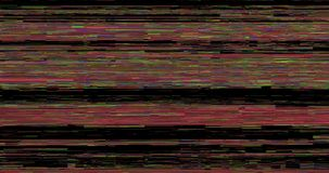 Abstract pixel noise glitch background. Animation - abstract pixel noise glitch background. Retro error video signal. 4k tv digita noise screen footage stock footage