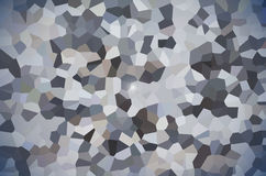 Abstract pixel polygonal design background Royalty Free Stock Photography