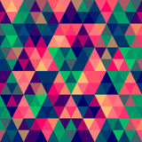Abstract Pixel Triangle Pattern Stock Photography