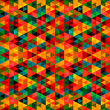 Abstract Pixel Triangle Pattern Royalty Free Stock Photo