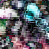 Abstract pixelated background Royalty Free Stock Photos