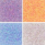 Abstract pixelated colourful background-variation Stock Photos