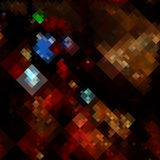 Abstract pixels Stock Photo