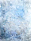 Abstract pixels texture background. In blue and gray tint Stock Photography