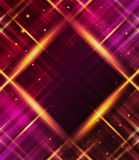 Abstract plaid background with light effects. Stock Photo