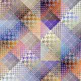 Abstract plaid background Stock Photos