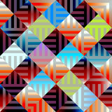Abstract plaid geometric background Stock Images