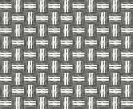 Abstract plaiting metallic texture. (for background vector illustration
