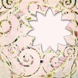 Abstract plakboekkader Stock Foto's
