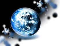 Abstract planet Stock Photography