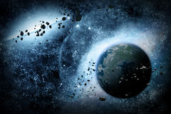 Abstract planet Royalty Free Stock Photo