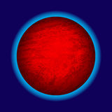 Abstract planet icon Royalty Free Stock Photo