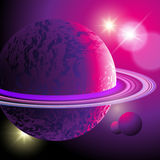 Abstract planets Royalty Free Stock Photos