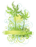 Abstract plants and trees Stock Photo