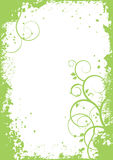 Abstract plants - vector background, banner Stock Images