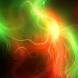 Abstract plasma discharge as a background. Psychedelic color image. Stock Photos