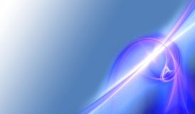 Abstract Plasma Energy Stock Photo