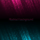 Abstract plasma lines background Stock Images