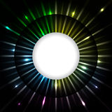 Abstract plasma ray background design Royalty Free Stock Photo