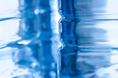 Abstract plastic bottle background Stock Photo