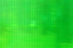 Abstract Plastic Green Texture with Blurred Stripes Stock Photo