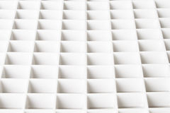 Abstract plastic grid perspective Stock Image