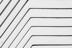 Abstract plastic lines. Abstract lines of white plastic stock photo