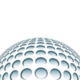 Abstract plastic sphere Royalty Free Stock Photography
