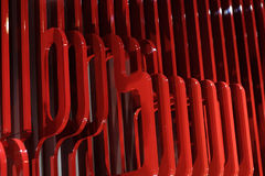 Abstract plastic structure Stock Images