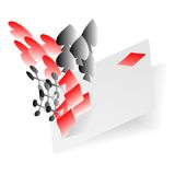 Abstract Playing Card Elements Background Vector Royalty Free Stock Images