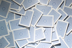 Abstract Playing Cards Background Stock Image