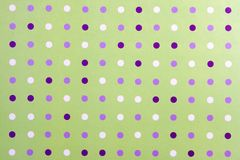 Abstract Poka Dot Background Stock Image