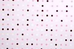 Abstract Poka Dot Background Royalty Free Stock Photos