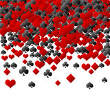Abstract poker background Stock Photo