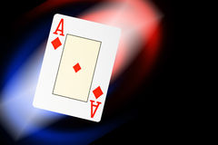 Abstract poker cards background Royalty Free Stock Images