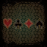 Abstract Poker wallpaper Royalty Free Stock Photography