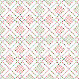Abstract polka dot retro seamless pattern Stock Image