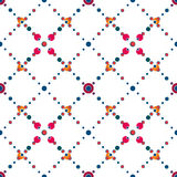 Abstract polka dot retro seamless pattern Royalty Free Stock Photos