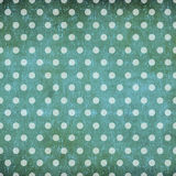 Abstract polka dot vintage background Royalty Free Stock Images