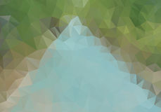 Abstract polygon background. Stock Photos