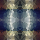 Abstract polygon background. Stock Photo