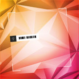 Abstract Polygon Background Design Stock Photo