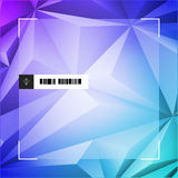 Abstract Polygon Background Design Stock Photography