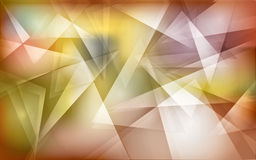 Abstract polygon background. Abstract  background design with warm polygon shapes Stock Photo