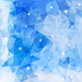 Abstract polygon background. Royalty Free Stock Image