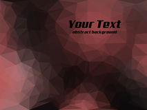 Abstract polygon background. Royalty Free Stock Photography