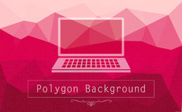 Abstract polygon background Stock Images