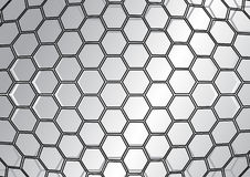Abstract polygon background Stock Photo