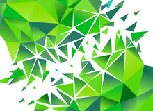 Abstract Polygon Background.  Vector Royalty Free Stock Photos