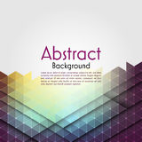 Abstract polygon background. Royalty Free Stock Photo